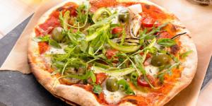 pizza végétarienne au psyllium, docteur nature