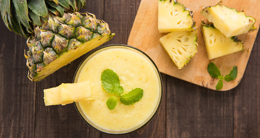 smoothie-psyllium-ananas