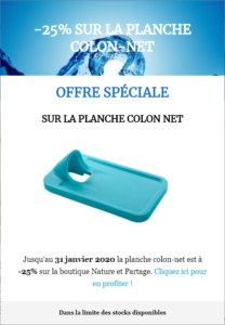 Promotion irrigation du colon